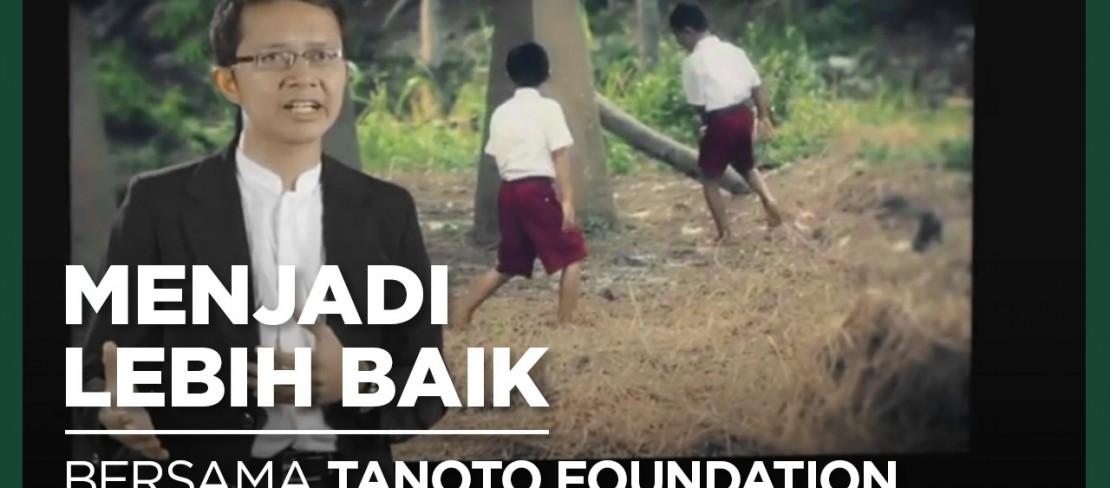 Agung Baskoro Penerima Beasiswa Tanoto Foundation