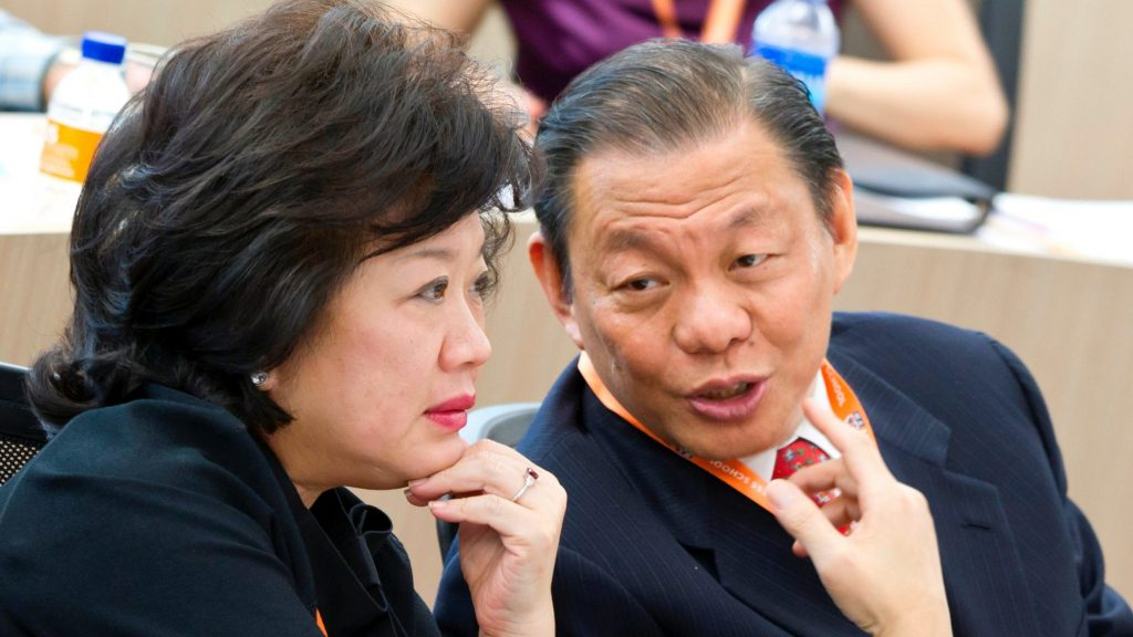 Pendiri Tanoto Foundation - Sukanto Tanoto dan Tinah Bingei Tanoto