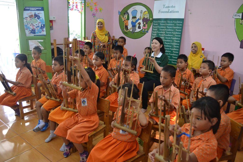 Menengok Kreativitas Anak Anak Paud Cempaka 7 Tanoto Foundation