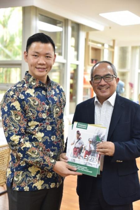 Anderson Tanoto Ambassador Suryo Pratomo Tanoto Foundation Annual Report